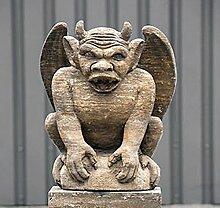 pompidu-living Drachenfigur H 82 Farbe sandstein