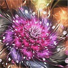 Ponana 3D Textil Tapeten Blumen Wandbild Tapete