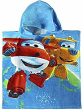 Poncho-Handtuch Super Wings, Baumwolle