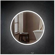 PonteSino Runder Badspiegel LED Beleuchtung