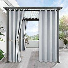 PONY DANCE Garten Vorhang Verdunkelung - Outdoor