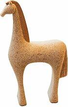 Pony Modellierung Ornamente Skulptur Indoor und