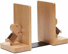 Pony Shape Book Stand - Buchstütze aus Holz für