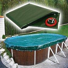 Pool Abdeckplane PEB Achtformbecken 725 x 460 cm,