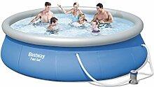 Pool aufblasbar C/Pumpe 396x 84h Bestway 57321