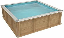 Pool aus Holz Naturalwood pistoche–2,26x 2,26x h0,63M