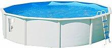 Pool Circular Außerhalb Boden 350x 120doppelwandig Hartschale lackiert Luna Dir