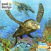 pool-design.eu Poolspiel * Aqua Games * Tauchspiel