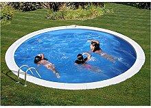 Pool Gre rund interrata Durchm Cm 420x 120H cm
