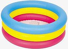 Pool- Runde aufblasbare Kinderbadewanne Duschbecken