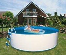 Pool / Schwimmbecken Trend rund mit Sandfilter Ø5,50x1,20m