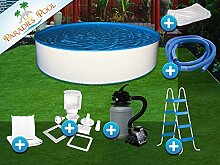 Pool Set Easy 3,50x0,90m rund Stahlwandbecken