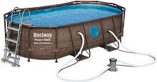 Pool Set Swim Viesta Blau, Braun