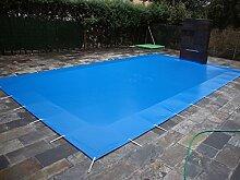 Poolabdeckung für den Winter, blickdicht, für 6x 3Meter Pool. Schutzabdeckung für den Winter, PVC mit 650g/m². 6,50x3,50metros