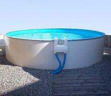 Poolfolie Innenhülle für Rundpool 3,50 x 1,20 m Folienstärke 0,6 mm blau Rundbecken