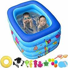 POOLINGCHI Aufblasbares Schwimmbecken Aufblasbares