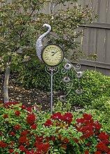 Poolmaster Outdoor Thermometer Gartenstecker Pfau