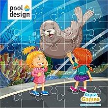 Poolspiel * Aqua Games * Tauchspiel * Unterwasser