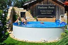 Poolzon Schwimmbecken Rundpool Fun-Zon 3,50 x
