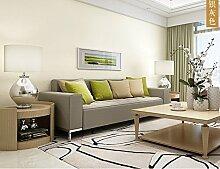 Poowef Wallpaper Einfarbig, Non-Woven Stoff, Wohnzimmer Tv Hintergrundbild, Schlafzimmer Bett Wallpaper Pink, Blau, 0,53*10 M, H