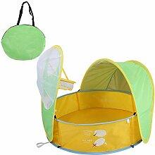 Pop Up Baby Strandzelt UV-Schutz Sonnenschutz