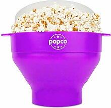 Popco Popcorn Popcorn Popcorn mit Griffen,