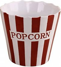 Popcorn Becher Red Stripe von Krasilnikoff