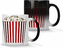 Popcorn-Kino-Hintergrund Farbwechsel 33 cl Tasse