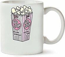Popcorn Klassische Teetasse Kaffeetasse
