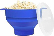 Popcorn Schüssel Mikrowelle Silikon, Popcornmaker