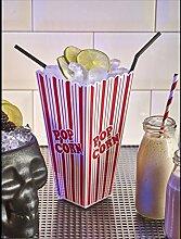Popcorn Tasse 1L/35.25oz Brillen Tisch Bar