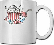 Popcorn und Cola für die Movie Fashion Coffee Cup