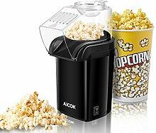 Popcornmaschine, Aicok 1200W Heißluft Popcorn