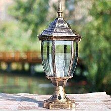 Popertr Outdoor wasserdichte E27 Säule Licht