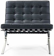 Popfurniture Barcelona Chair Premium - Lounge