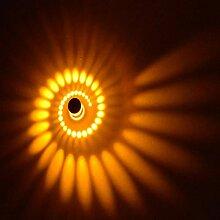 Popowbe 3W LED Wandleuchte Leuchte Wandlampe