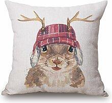 POPRY Nordic Cartoon Cat, Aquarell, Amerikanische