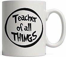 Porcelain Mug Teacher of All Things Funny Mug |