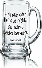 PorcelainSite Geschenkideen GmbH Lustiges Bierglas