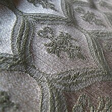 Porchester 'Gras Muster': Blau Grün Und Cremefarben Damast Polstermöbel Sofa Kissen Flammschutzmittel Stoff Material aus loome Stoffe per metre Porchester 'Herb Muster': Ente Ei grün