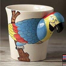 PORCN Tee Kaffeetassen Keramik 3D Cartoon Elefant