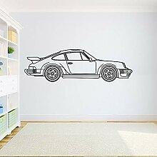 Porsche 911 Wandaufkleber Porsche 911 Turbo