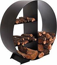 Porta Brennholz Regal Circular mit efp21Purline