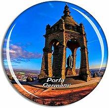 Porta Westfalica Denkmal Deutschland