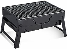 Portable Barbecue Grill Edelstahl Holzkohle