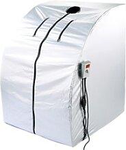 Portable Infrarot-Sauna V2 mit 2 Heizern, 1600 Watt