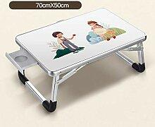 Portable Mobile Laptop Tisch Beistelltisch Lazy