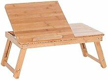 Portable Tisch Klapptisch Bambus Camping Picknick