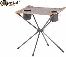 Portal Extra Leichter Camping Falttisch Zoe, 48 x