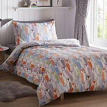 Portfolio Bettwäsche-Set für Einzelbett,